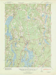 Waldoboro, Maine 1941 (1941) USGS Old Topo Map 15x15 Quad