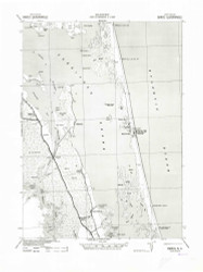 Barco, North Carolina 1940 (1942) USGS Old Topo Map 15x15 Quad