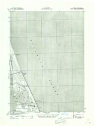 Kitty Hawk, North Carolina 1940 (1942a) USGS Old Topo Map 15x15 Quad