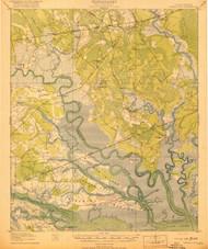 Green Pond, South Carolina 1918 (1918) USGS Old Topo Map 15x15 Quad