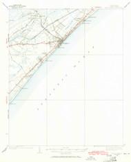 Myrtle Beach, South Carolina 1937 (1965) USGS Old Topo Map 15x15 Quad