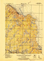 Plymouth, Massachusetts 1921 (1921) USGS Old Topo Map 15x15 Quad
