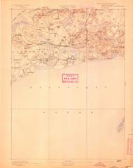 Yarmouth, Massachusetts 1893 (1893) USGS Old Topo Map 15x15 Quad