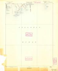 Sakonett, Rhode Island 1893 (1893) USGS Old Topo Map 15x15 Quad