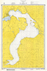 Lake Pend Oreille - 1965 Nautical Chart - Inland Lakes