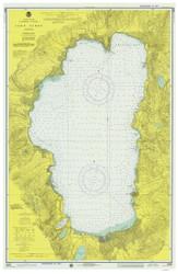 Lake Tahoe - 1975 Nautical Chart - Inland Lakes