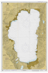 Lake Tahoe - 1978 Nautical Chart - Inland Lakes