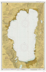 Lake Tahoe - 1982 Nautical Chart - Inland Lakes