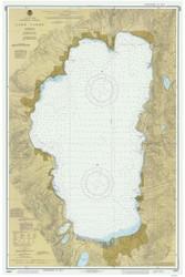 Lake Tahoe - 1987 Nautical Chart - Inland Lakes