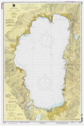 Lake Tahoe - 1992 Nautical Chart - Inland Lakes