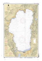 Lake Tahoe - 2004 Nautical Chart - Inland Lakes
