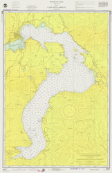 Lake Pend Oreille - 1975 Nautical Chart - Inland Lakes