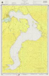 Lake Pend Oreille - 1975 Nautical Chart - Inland Lakes