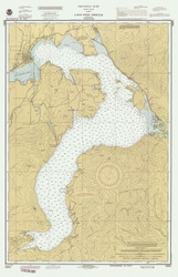 Lake Pend Oreille - 1990 Nautical Chart - Inland Lakes