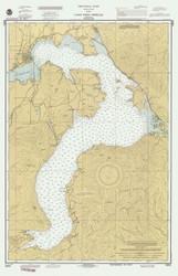Lake Pend Oreille - 1990 Nautical Chart - Inland Lakes