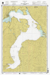 Lake Pend Oreille - 1998 Nautical Chart - Inland Lakes