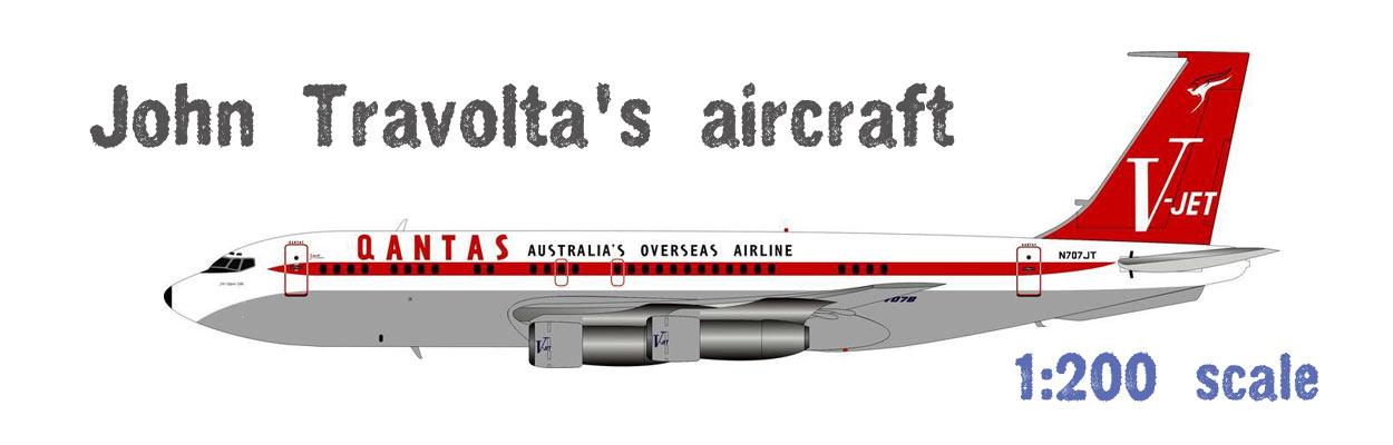 John Travolta's 707