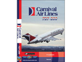 CAA1 World Air Routes (Just Planes) DVD Carnival Air Lines 727-200 55 Minutes