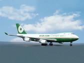 JX065 Jet-x 1:400 Boeing 747-400F Eva Air Cargo