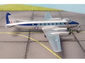 SF035 SkyFame Models 1:200 De Havilland DH.114 Heron C4 Royal Navy 'Queen's Flight' XM296 (silver with blue cheatline)