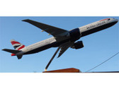 MA041 Custom Made Desktop Models 1:100 Boeing 777-300 British Airways
