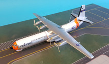 SC087   Sky Classics 1:200   C-133 Cargomaster USAF 62014, MATS (white & dayglo Arctic scheme)