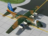 GMBAF010 Gemini Jets 1:400 Lockheed C-130 Hercules Belgian Air Force