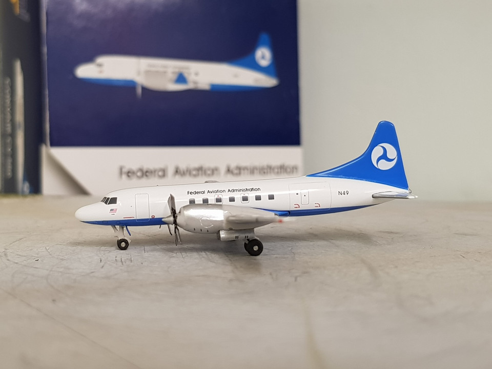 Gjfaa1173 Gemini Jets 1400 Convair Cv 580 Faa Federal Aviation
