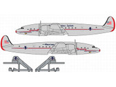 DRW55788 | Dragon Wings 1:400 | Lockheed L-1049 Constellation American Airlines