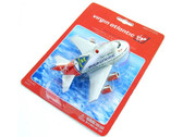 PPFP15BL | Younger Selection | Pull Back Fun Plane - Virgin Atlantic (with light and sound)