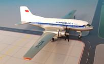 WM051 | Western Models UK | Ilyushin IL-14 Aeroflot CCCP-27212