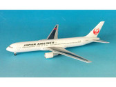 BJE3008 Hogan Die-cast 1:400 Boeing 767-300ER JAL Japan Airlines JA654J