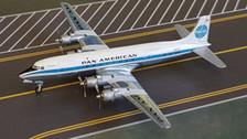 GJPAA1307   Gemini Jets 1:400   Douglas DC-6 Pan American World Airways N6519C