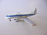 ACN7444 | Aero Classics 1:400 | Viscount 700 United Airlines N7444