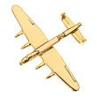 CL018 |  Clivedon Collection | Plane Pin 3D - LANCASTER (gold plated,with box)