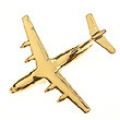 CL019 | Clivedon Collection | Plane Pin 3D - AIRBUS A400M (Gold plated with box)
