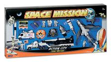 Space Mission | Toys | 20 Pcs.Set. Rocket Launcher, Shuttle And Launcher, Astronauts etc.