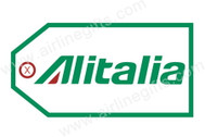 TAG021 | Bag Tags | Luggage Tag - Alitalia