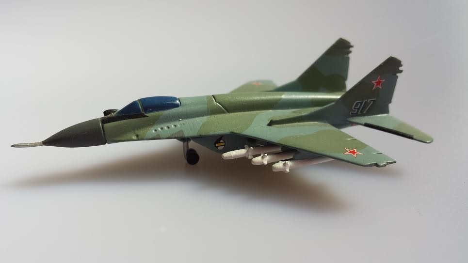 MS015 MiG 29 Russian Air Force 917 (from Eclipse Models) - Aviation