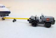 SC236 | Sky Classics Airport Vehicles 1:200 | Aircraft Tug & Tow BEA 'Red Square' (grey/black) | available on request