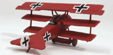 WW12001 | Wings of the Great War 1:72 | Fokker Dr.I German Air Service (with stand)