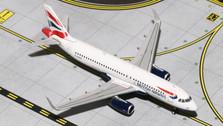 GJBAW1410 | Gemini Jets 1:400 | Airbus A320 British Airways G-EUYV