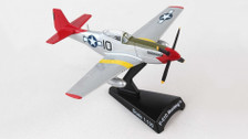PS5342-7   Postage Stamp Models 1:100   P-51D Mustang Tuskegee