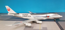 JFI-747-2-014 | JFox Models 1:200 | Boeing 747-200 JAL JA8180, 'Super Logistics' (with stand)