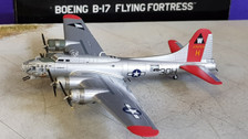 HG5972 | Hogan Die-cast 1:200 | B-17G Flying Fortress US Army Air Corps 2102516 30-H, 'Aluminum Overcast'