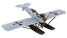 WW17001 | Wings of the Great War 1:72 | Hansa-Brandenburg W.29 Floatplane 2204, C3MG Prototype, 1918