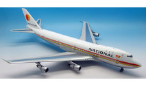 IF27420915P | InFlight200 1:200 | Boeing 747-100 National Airlines N77772 (polished, with stand)