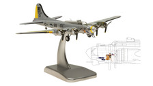 HG5965 | Hogan Die-cast 1:200 | B-17G Flying Fortress US Army Air Corps 42-97849, 'Liberty Belle'