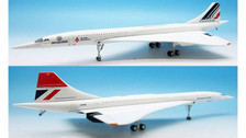 JFI-CONC-004 | Hogan Die-cast 1:200 | Concorde Air France / British Airways F-WTSB, 'Noise Tests' Split Scheme