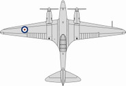 OX72COM004 | Oxford Die-cast 1:72 | DH88 Comet, RAF, K5084, RAF Martlesham | is due: TBC